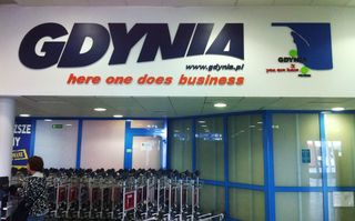 Gdynia Airport Photo, welcome business 8.12.2011