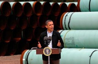 Obama and Keystone Pipeliine 4.20.2012