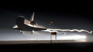 Space Shuttle Atlantis Touches Down Ending an Era of American Manned Spaceflight  Popular Science