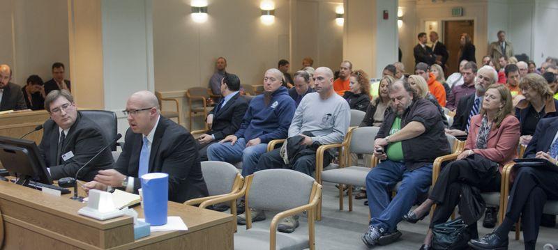 Kris Tefft testifies