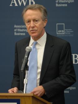 Washington state Treasurer Jim McIntire