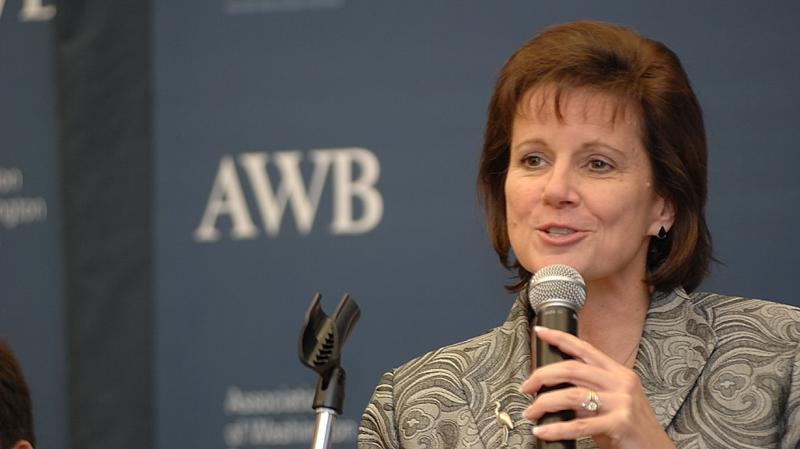 Gov. Inslee's Chief of Staff Mary Alice Heuschel. Photo: Dan Brunell / AWB