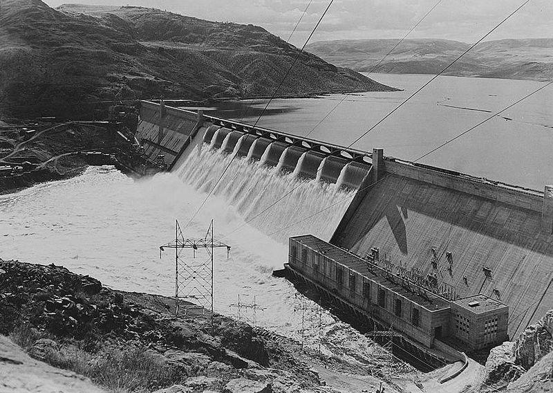 Grand Coulee Dam/Photo: U.S. Bureau of Reclamation