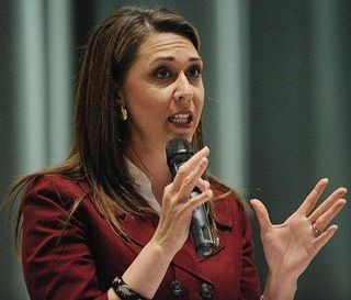 Crowd pulls few punches at Herrera Beutler town hall  The Columbian